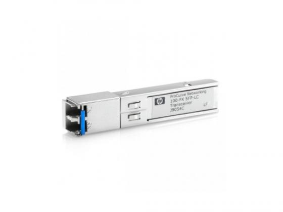 Трансивер HP X111 100M SFP LC FX J9054C кабель hp premier flex lc lc om4 2f 5m cbl qk734a