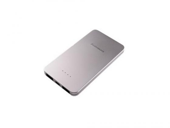 Портативное зарядное устройство Lenovo PowerBank PB410 5000мАч серебристый 888016288 аккумулятор lenovo power bank pb410 888016288 888016288