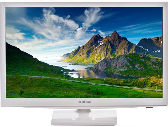 цена на Телевизор ЖК LED 24 Samsung UE24H4080AUXRU белый 16:9 1366x768 DVB-T/T2/C/S2 SCART HDMI USB