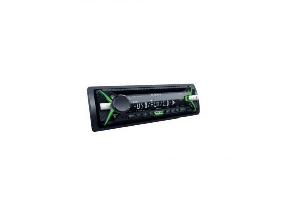 Автомагнитола SONY CDX-G1100UE USB MP3 CD FM RDS 1DIN 4x55Вт черный автомагнитола cd mp3 sony cdx g1202u