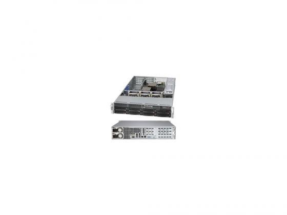 Серверный корпус SuperMicro CSE-825TQ-R500WB 2U E-ATX 13.68''x13' 8x3.5'' HotSwap SAS/SATA SES2 500Вт черный fl 039 cu helios