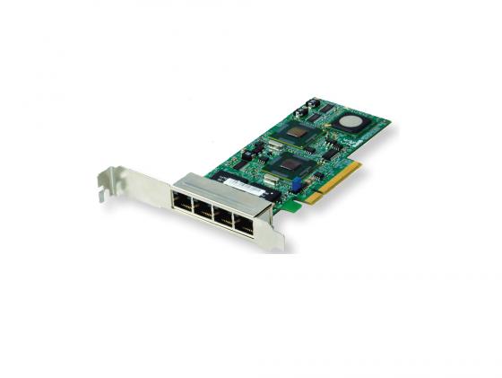 Сетевой адаптер SuperMicro AOC-SG-I4 10/100/1000 Мбит/c PCI-E 4xRJ-45 цена и фото