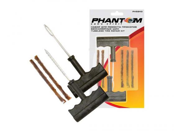 Набор Phantom PH5243 для ремонта проколов бескамерных шин набор для ремонта проколов бескамерных шин phantom ph5243