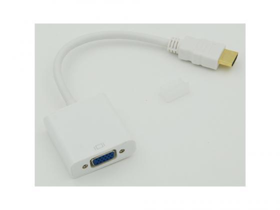 Переходник ВЕНРЕХ HDMI-M - VGA-F 794538 цена