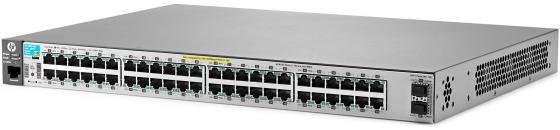 Коммутатор HP 2530-48G-PoE+ управляемый 48 портов 10/100/1000Mbps 2xSFP PoE+ J9853A коммутатор hp jl386a управляемый 48 портов 10 100 1000mbps jl386a