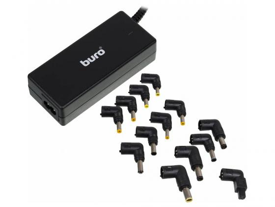 Блок питания для ноутбука Buro BUM-0054B65 11 переходников 65Вт черный
