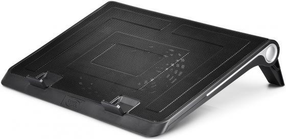 """цена на Подставка для ноутбука 17"""" Deepcool N180 FS 380x296x46mm 1xUSB 922g 20dB черный"""