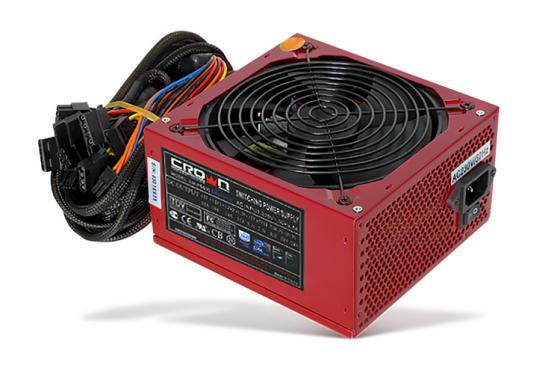 Блок питания ATX 500 Вт Crown CM-PS500W цена и фото