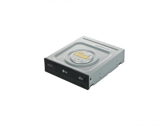 Привод для ПК DVD±RW LG GH24NSC/GH24NSD SATA черный OEM привод для ноутбука blu ray lg bu40n sata черный oem