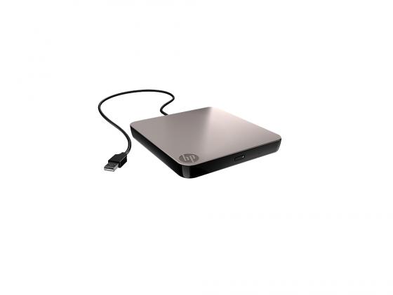 купить Внешний привод DVD±RW HP USB Slim Ext RTL (701498-B21) USB 2.0 черный Retail недорого