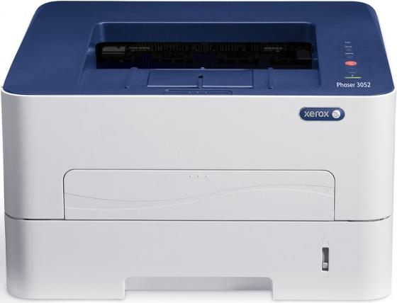 Фото - Принтер Xerox Phaser 3052V/NI ч/б A4 26ppm 1200x1200dpi Ethernet USB принтер brother hl l2300dr ч б a4 26ppm 2400x600dpi дуплекс usb