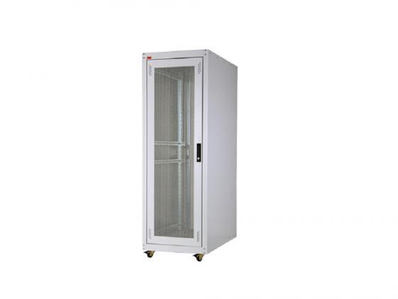 """Шкаф напольный 19"""" 42U Estap ECOline ECO42U61GF1R1 600x1000mm серый"""