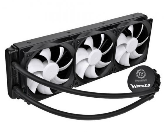 Водяное охлаждение Thermaltake Water Cooler Water 3.0 Ultimate CL-W007-PL12BL-A Socket 1150/1155/1156/1366/2011/AM2/AM2+/AM3/AM3+/FM1/FM2