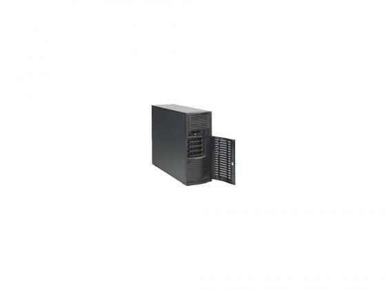 Серверный корпус E-ATX Supermicro CSE-733T-500B 500 Вт чёрный корпус серверный supermicro cse 732d4 500b cse 732d4 500b