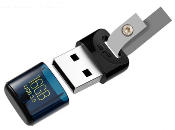 Флешка USB 16Gb Silicon Power Jewel J06 SP016GBUF3J06V1D синий смартфон lenovo vibe c2 power 16gb k10a40 black