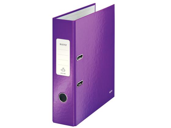 Папка-регистратор Leitz WOW 180 А4 80мм фиолетовый 10050062 leitz 52810095