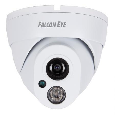 Камера IP Falcon EYE FE-IPC-DL200P CMOS 1/2.8 1920 x 1080 H.264 RJ-45 LAN PoE белый ip видеорегистратор 8ch poe fe nr 8108 poe falcon eye