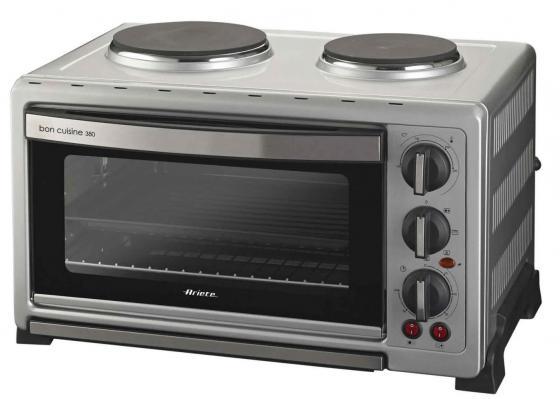 Мини-печь Ariete 977 1600Вт Bon cuisine 380 серебристый
