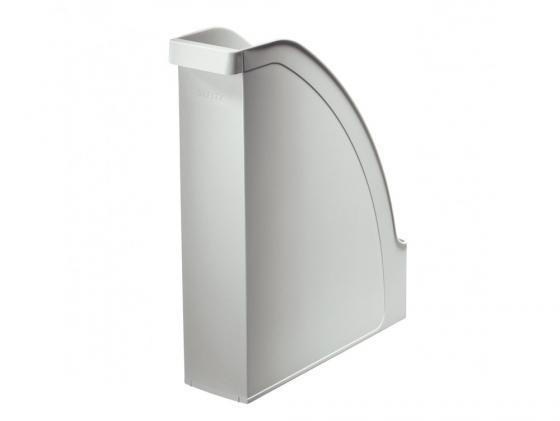 Лоток вертикальный Leitz Plus серый 24760085 лоток вертикальный leitz plus черный 24760095