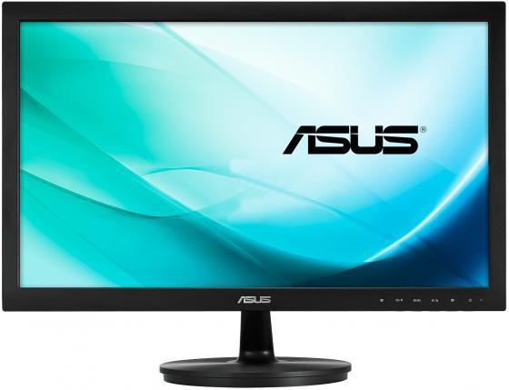 Монитор 21.5 ASUS VS229NA черный AH-IPS 1920x1080 250 cd/m^2 5 ms DVI VGA 90LME9001Q02211C- монитор 25 asus mx259h черный ah ips 1920x1080 250 cd m^2 5 ms dvi hdmi аудио 90lm0190 b01670