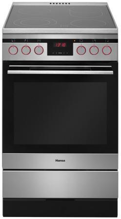 Электрическая плита Hansa FCCX58225 серебристый электрическая плита hansa fcex58210 серебристый