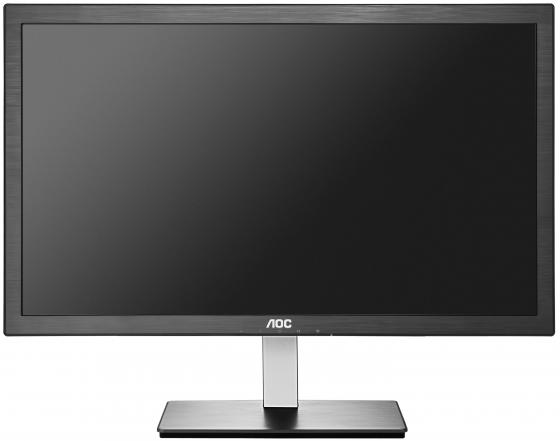 Монитор 23.6 AOC i2476Vwm/01 серебристый черный ADS-IPS 1920x1080 250 cd/m^2 5 ms VGA HDMI монитор жк aoc professional e719sda 01 17 серебристый и черный