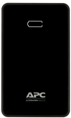 Портативное зарядное устройство APC Mobile Power Pack 10000mAh Li-polymer EMEA/CIS/MEA черный M10BK-EC внешний аккумулятор apc mobile power pack 10000mah li polymer white m10wh ec