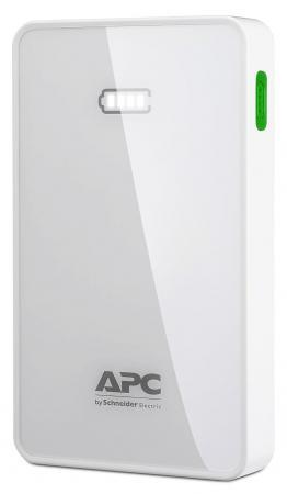 Портативное зарядное устройство APC Mobile Power Pack 5000mAh Li-polymer EMEA/CIS/MEA белый M5WH-EC внешний аккумулятор apc mobile power pack 5000mah li polymer white m5wh ec