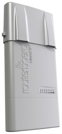 Маршрутизатор MikroTik RB912UAG-2HPnD-OUT 802.11n 1000mbps 2.4ГГц wi fi роутер mikrotik rb912uag 2hpnd