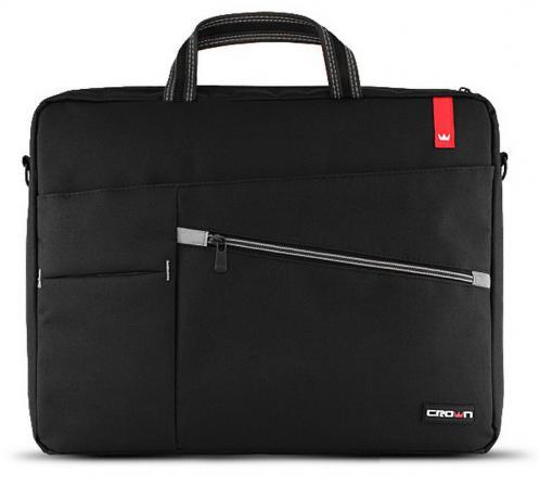 """все цены на Сумка для ноутбука 17"""" Crown CMB-558 синтетика черный"""