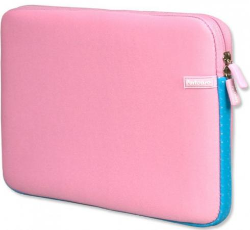 Чехол для ноутбука 14 PortCase KNP-14PN розовый чехол для ноутбука 14 printio куница