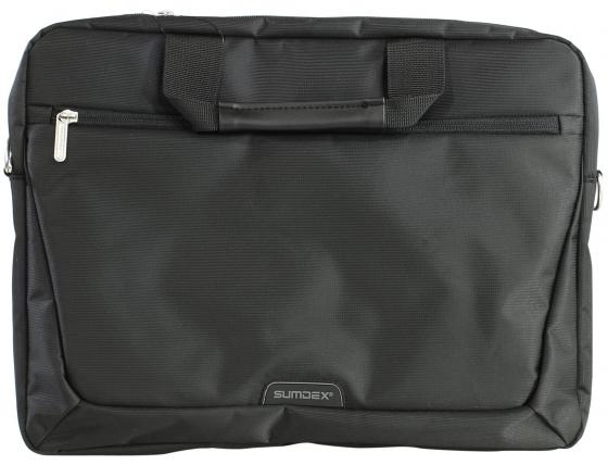 """Сумка для ноутбука 15.6"""" Sumdex PON-111BK нейлон черный цена и фото"""