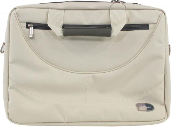 """Сумка для ноутбука 15.6"""" Sumdex PON-318CM нейлон бежевый сумка для ноутбука 15 6 sumdex pon 318cm нейлон бежевый"""