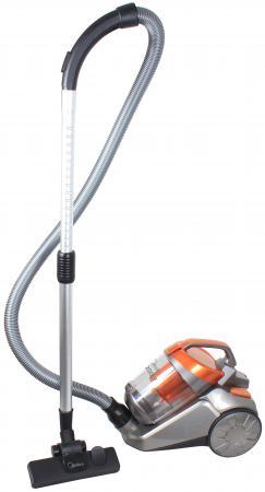 Пылесос Midea VCS43C2 сухая уборка оранжевый серый