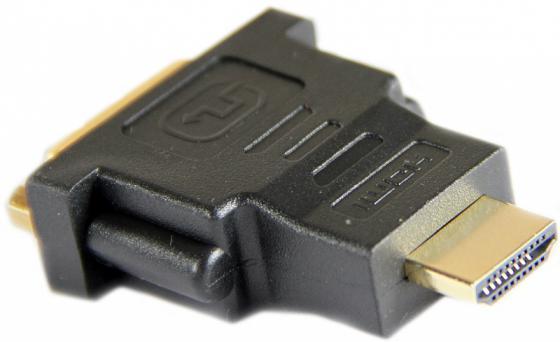 Переходник Aopen HDMI-DVI-D позолоченные контакты ACA311 кабель aopen hdmi 19m m 1 4v 3d ethernet aopen