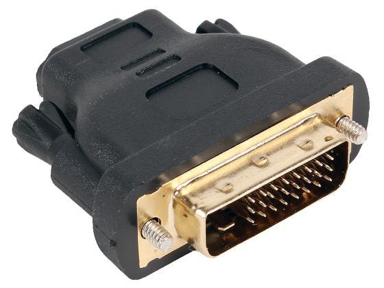 Переходник Aopen HDMI-DVI-D позолоченные контакты ACA312 переходник ningbo hdmi m dvi d f позолоченные контакты черный cab nin hdmi m dvi d f