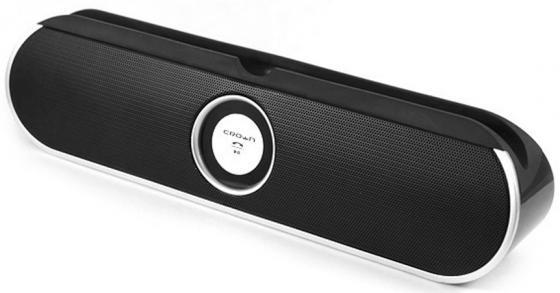 Портативная акустика Crown CMBS-307 черно-серебристый CM000001200