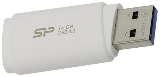 Флешка USB 16Gb Silicon Power Blaze B06 USB3.0 SP016GBUF3B06V1W белый цена и фото
