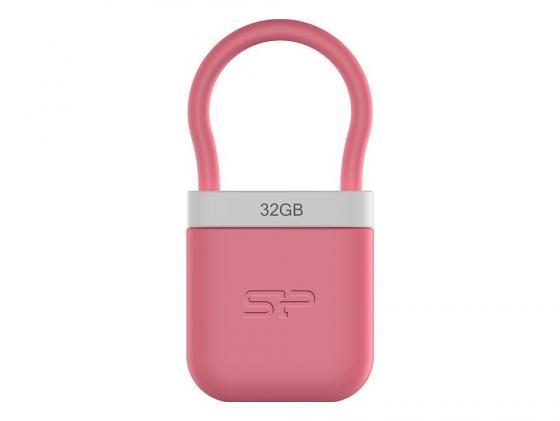 Флешка USB 32Gb Silicon Power32Gb Unique 510 SP032GBUF2510V1P розовый usb flash drive 4gb silicon power unique 510 pink sp004gbuf2510v1p