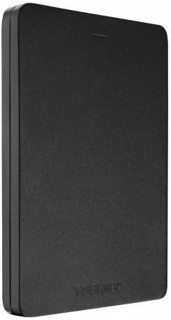 "Фото Внешний жесткий диск 2.5"" USB3.0 500Gb Toshiba Canvio Alu HDTH305EK3AA черный"