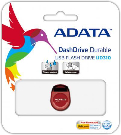Флешка USB 8Gb A-Data UD310 USB2.0 AUD310-8G-RRD красный