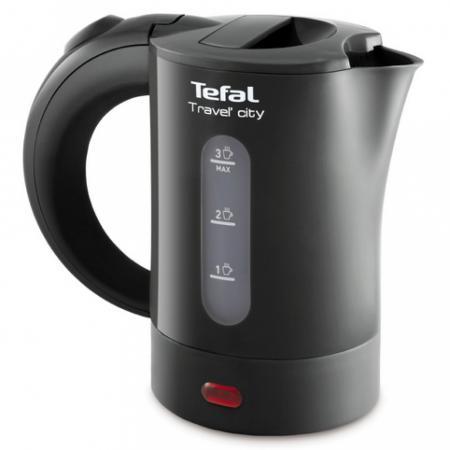 Чайник Tefal KO120B30 650 Вт 0.5 л пластик серый чайник tefal ko 120 b 30