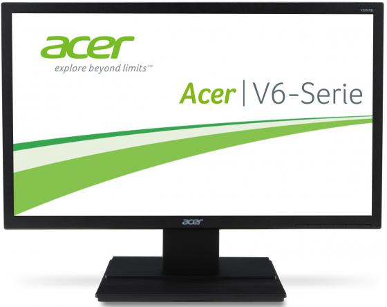 Монитор 21.5 Acer V226HQLbmd черный TFT-TN 1920x1080 250 cd/m^2 5 ms VGA DVI Аудио монитор 21 5 hp vh22 черный tn 1920x1080 250 cd m^2 5 ms dvi vga displayport x0n05aa
