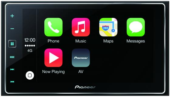 Автомагнитола Pioneer SPH-DA120 MP3 без CD-привода FM RDS 2DIN 4x50Вт черный автомагнитола pioneer sph da120 usb
