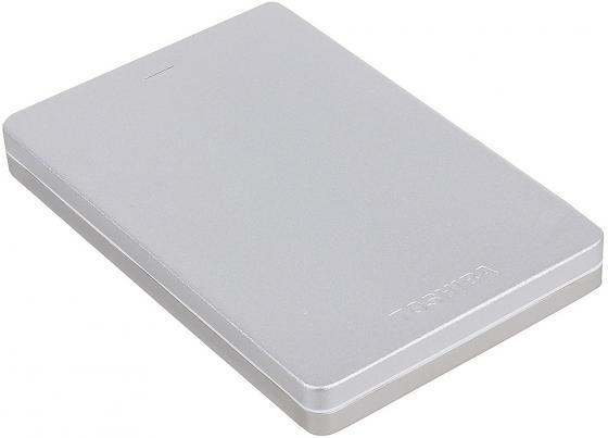 Внешний жесткий диск 2.5 USB3.0 500Gb Toshiba Canvio Basics HDTH305ES3AA серебристый