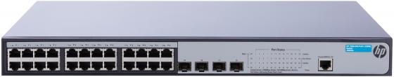 Коммутатор HP 1920-24G-PoE+ управляемый 24 порта 10/100/1000Mbps 4xSFP JG925A цены онлайн