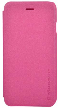 Чехол-книжка Nillkin Sparkle Leather Case для iPhone 6 красный T-N-iPhone6-009 nillkin чехол книжка для lg l60 x145 sparkle leather case