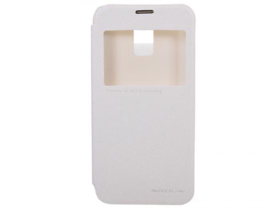 Чехол Nillkin Sparkle Leather Case для Samsung Galaxy S5 Mini G800 белый T-N-SG800-009 стоимость