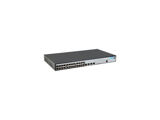 Коммутатор HP 1920-24G-PoE+ управляемый 24 порта 10/100/1000Mbps PoE+ 4xSFP JG926A
