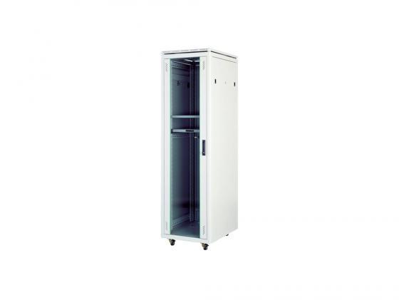 """Шкаф напольный 19"""" 42U Estap Universal Line CKR42U61GF1R2 600x1000mm серый"""